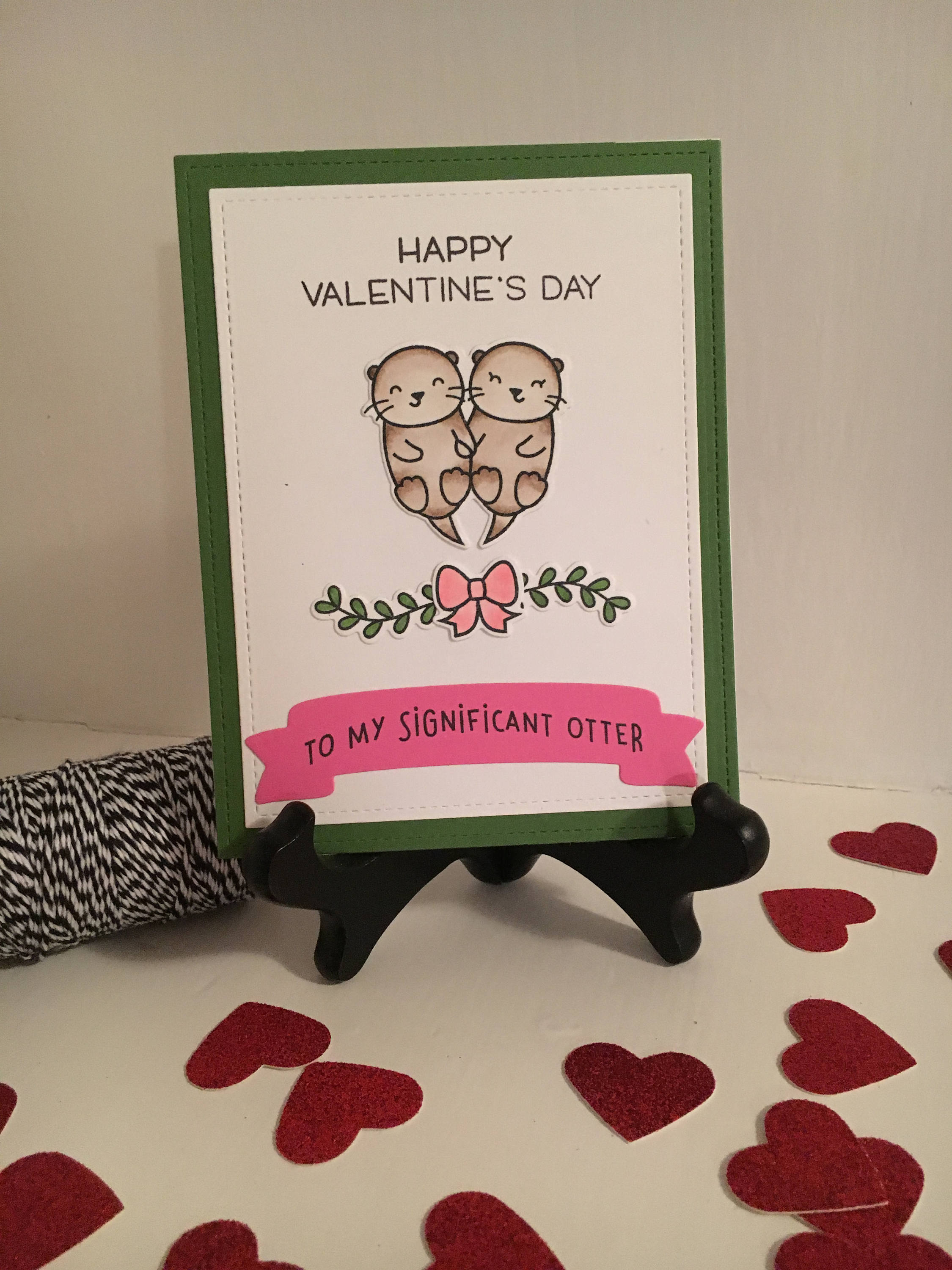 Valentines Day Card To My Significant Otter Funny Valentines Day Card Happy Valentines Day For Boyfriend Girlfriend Husband Or Wife