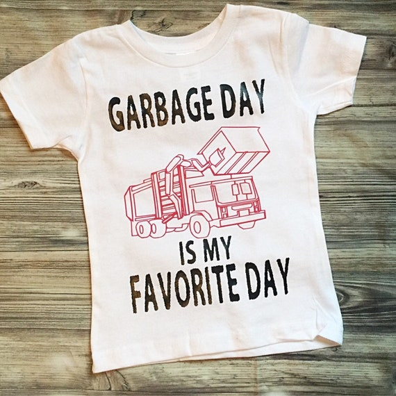Pink Garbage Day is my Favorite Day! Girl version garbage truck, Trash  Truck Shirt for girls, Garbage Man,Garbage Trucks,Trash Day, bodysuit