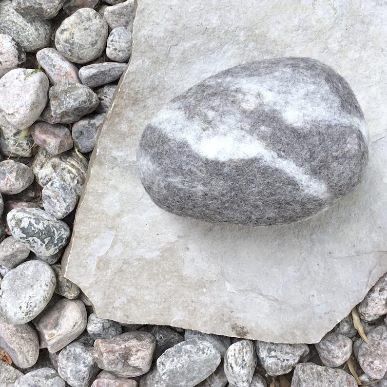 Doorstop. Original door stopper.  A REAL rock covered with image 0