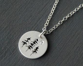 Sterling Silver Tree Pendant, Silver pendant, Small Silver Pendant, Silver Jewelry, Tree Pendant, West Coast Jewelry, Canadian Jewelry