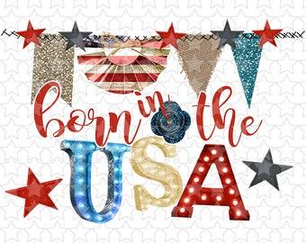 836 Born in the USA Patriotic