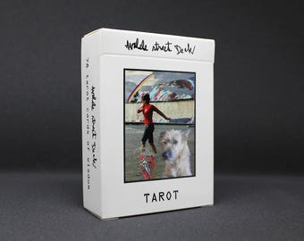 Tarot*TarotCards*Deck*Avalele*Self-published*Contemporary*Art*Collage*Painting*Photography*Symbolism*Occultism*FortuneTelling*Fun*Gift
