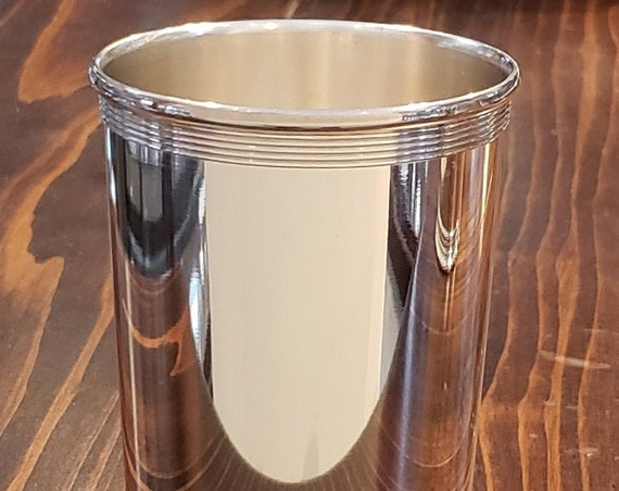 Sterling Mint Julep Cup - Banded