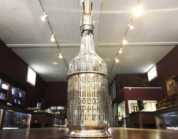 Stunning Sterling Decanter by The Mauser Manufacturing Company