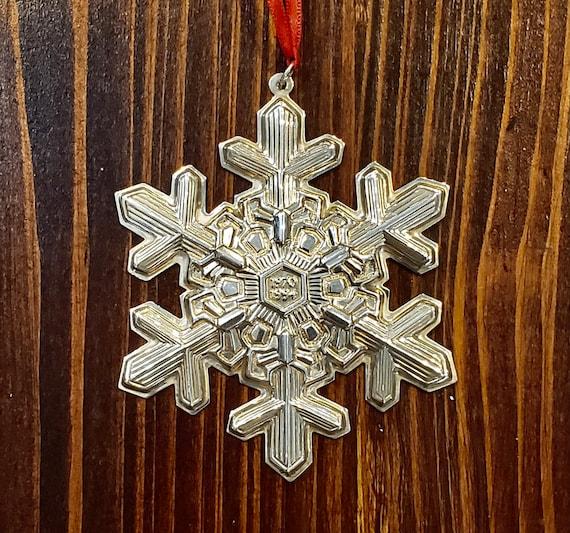 Gorham 1994 Sterling Silver Snowflake Ornament