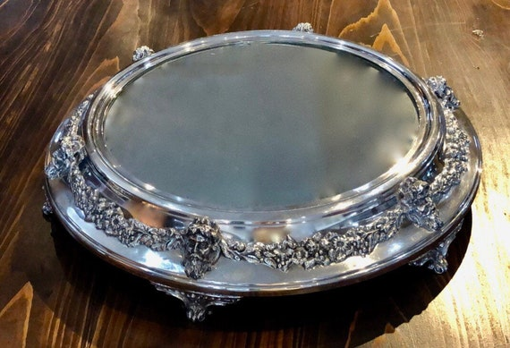Silver Plated Plateau