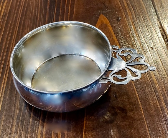 Lunt Sterling Silver Baby Porringer