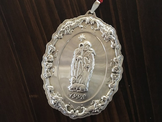Francis I by Reed & Barton Sterling Silver Nativity Collection Ornament (1998)
