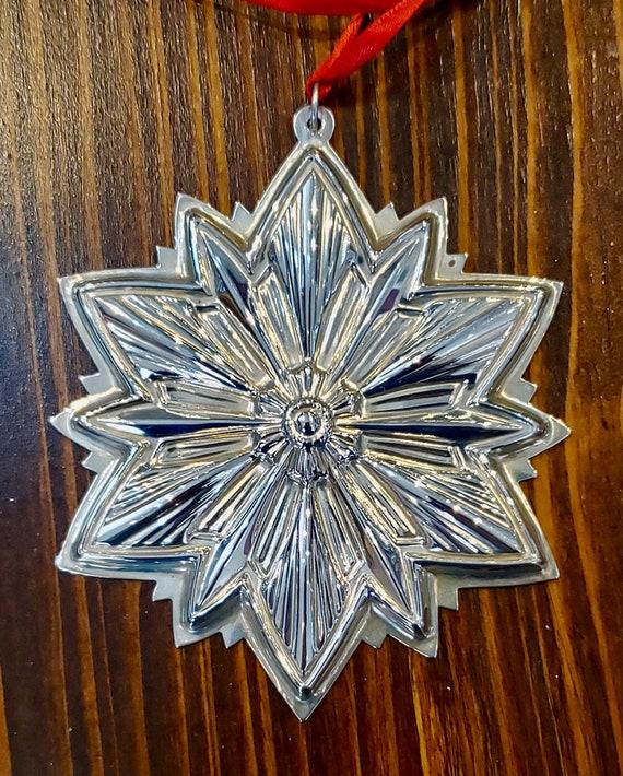 Gorham 1993 Sterling Silver Snowflake Ornament