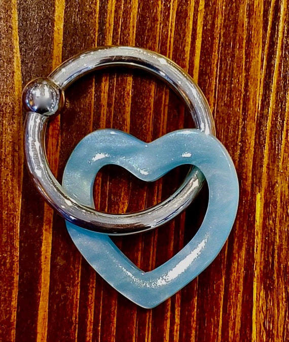 Sterling Blue Baby Teething Ring Rattle