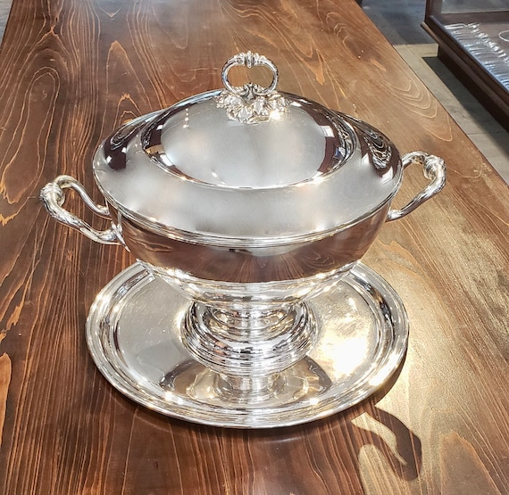 Silver Plated Soup Tureen
