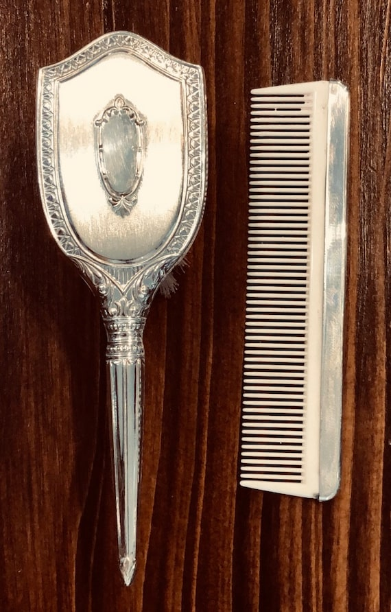 Web Silver Company Sterling Baby Brush and Comb Set