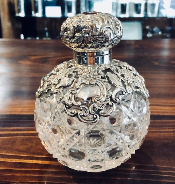 Sterling John & William Deakin Perfume Bottle