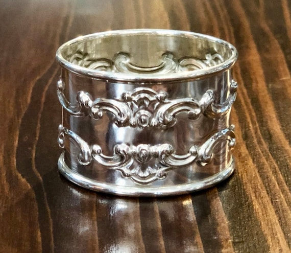Strasbourg by Gorham Sterling Napkin Ring