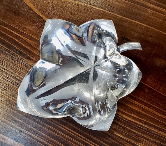 Tiffany & Co. Sterling Leaf Candy Dish