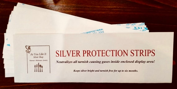 Silver Protection Strips