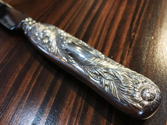 Chrysanthemum by Tiffany & Co. Sterling Silver Dinner Knife