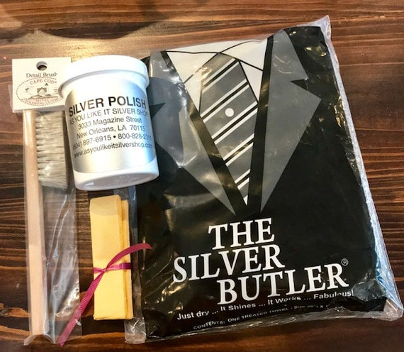 Four Piece Silver Cleaning Kit
