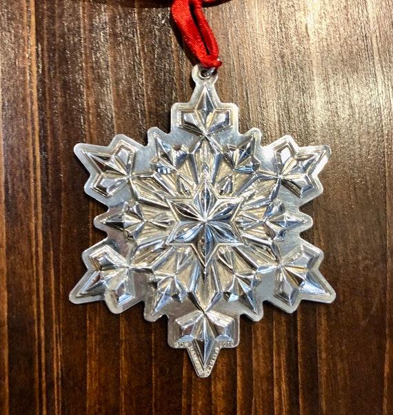 Gorham 2010 Sterling Silver Snowflake Ornament