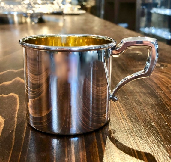 Web Silver Company Sterling Baby Cup