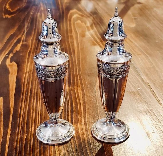 Sterling Salt and Pepper Shaker Set