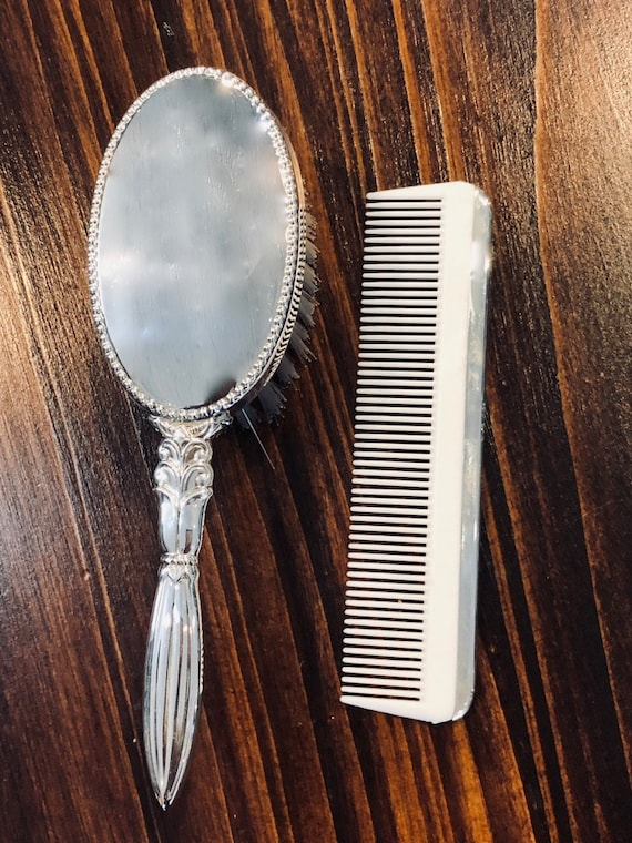 Empire Sterling Baby Girl Brush & Comb Set