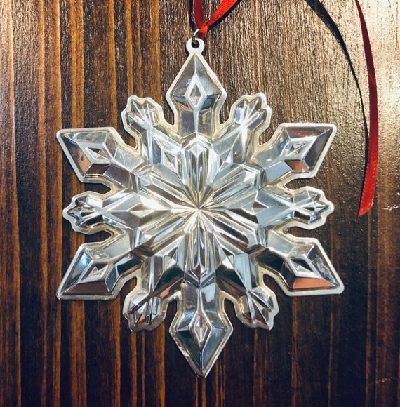 Gorham 2002 Sterling Silver Snowflake Ornament