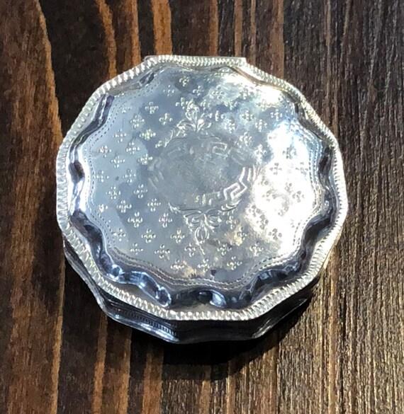 Dutch Sterling Pill Box