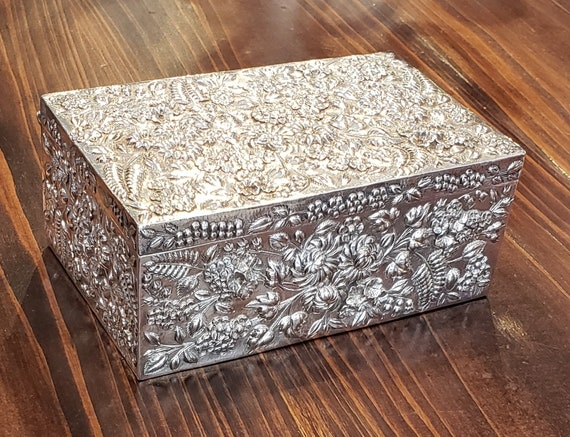 Repousse by Kirk Sterling Jewelry Box