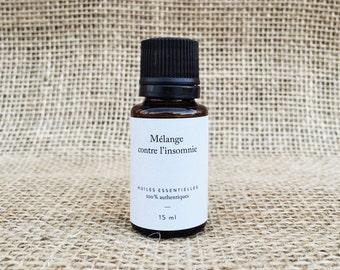 Blend of essential oils for insomnia - 15 ml bottle