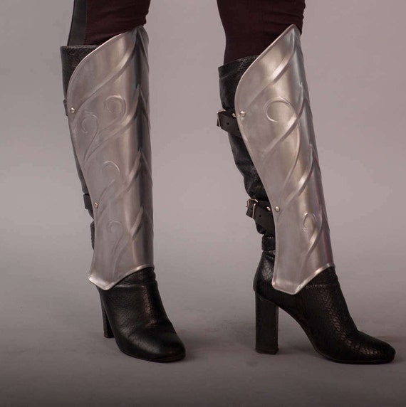 Steel Elf Pair Of Leg Greaves Medieval Thranduil/'s Armor LOTR The Hobbit