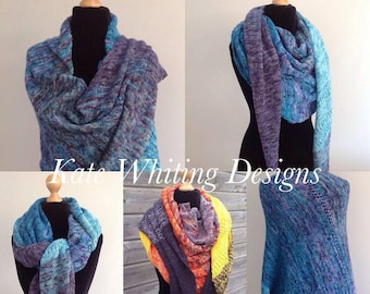 """Yarn Kit for """"Body and Mind"""" Shawl by Kate Whiting"""