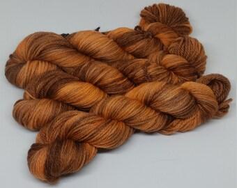 BFL Aran - Pumpkin Spice - 100% Bluefaced Leicester