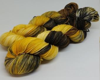 Platinum Sock - Autumn Gold - Superwash Merino + Nylon - 75/25
