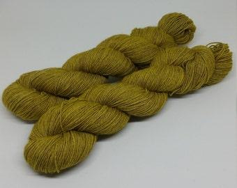 Yak Sock - You're My Sunshine - Superwash Merino + Yak + Nylon - 70/20/10