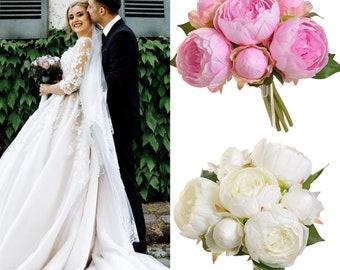 Peony bouquet, Peony bridal bouquet ,Wedding bouquet , Bridesmade Bouquet, bridal bouquet ,Peony