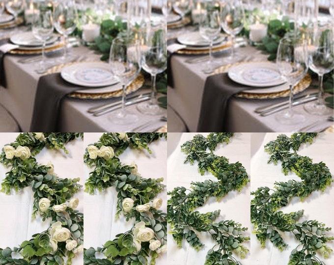 Eucalyptus Garland - Wedding Garland - Greenery Garland - Wedding Decor- eucalyptus - Eucalyptus wedding