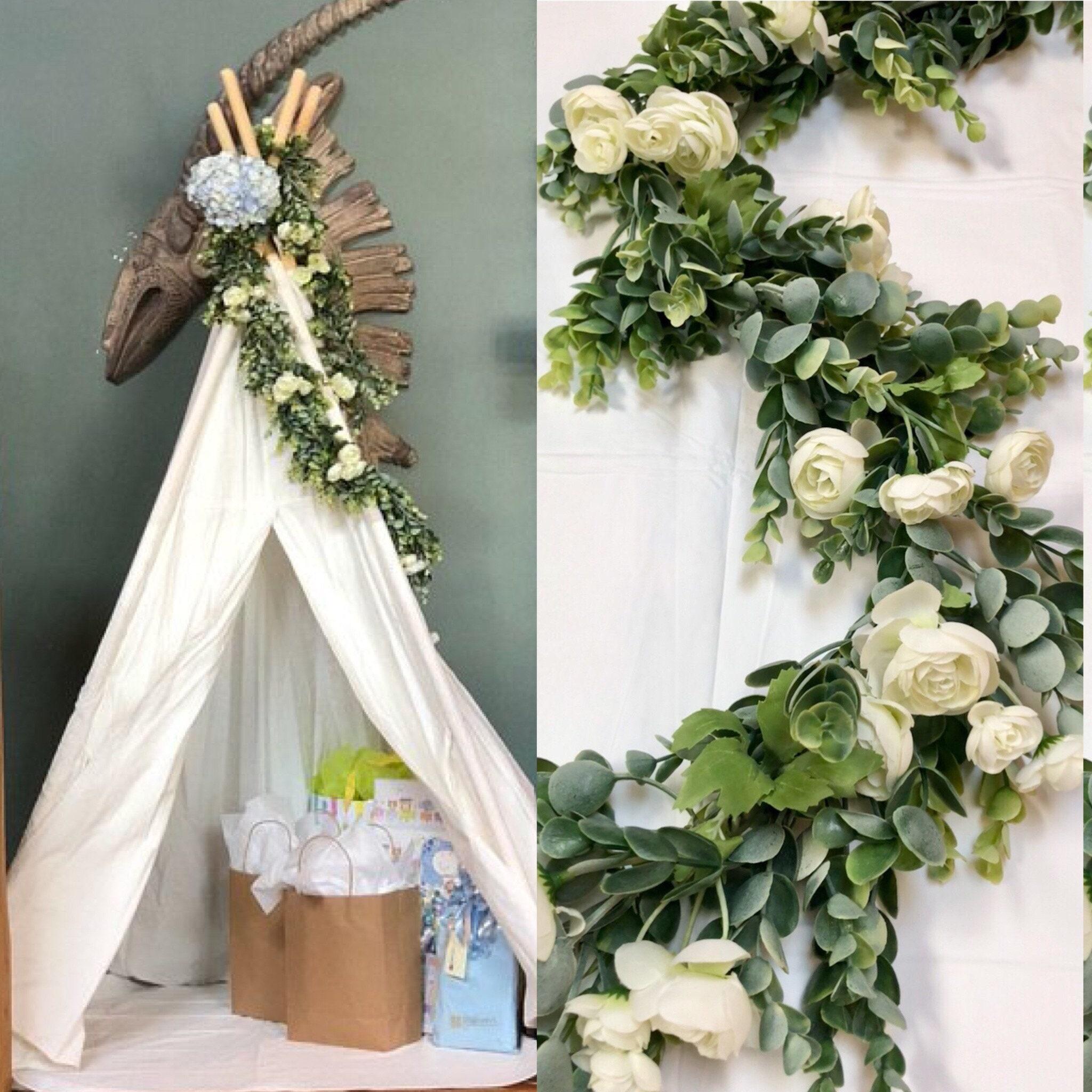 Hochzeit Mittelstücke Hochzeit Girlande grün Girlande Laube   Etsy