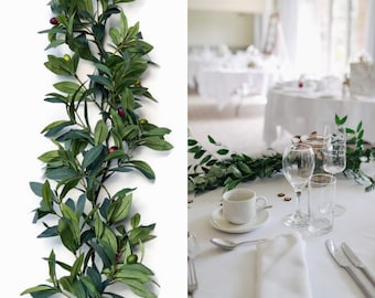 Wedding Garland - Greenery Garland - Olive branch garland - Wedding Decorations- Olive Garland  - Greenery wedding -Wedding Centerpiece