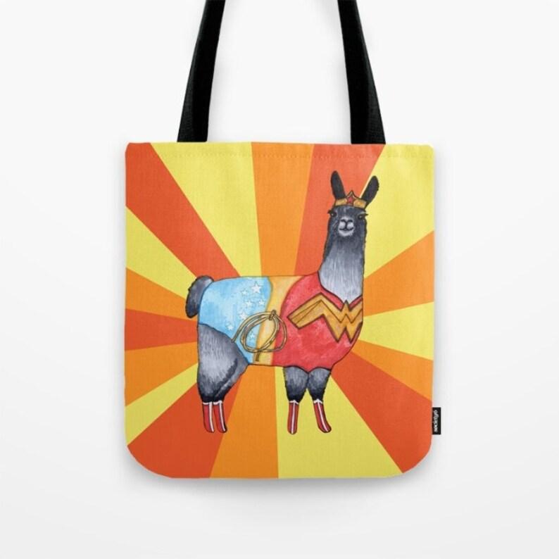 Wonder Woman Llama Bag