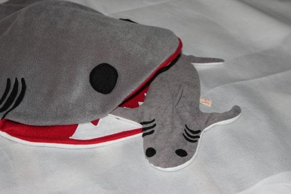 Hai Wärmekissen Körnerkissen Hai Weizen Kissen | Etsy