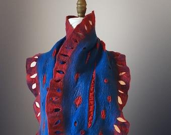 Nuno Felt scarf/shawl/stole/wrap