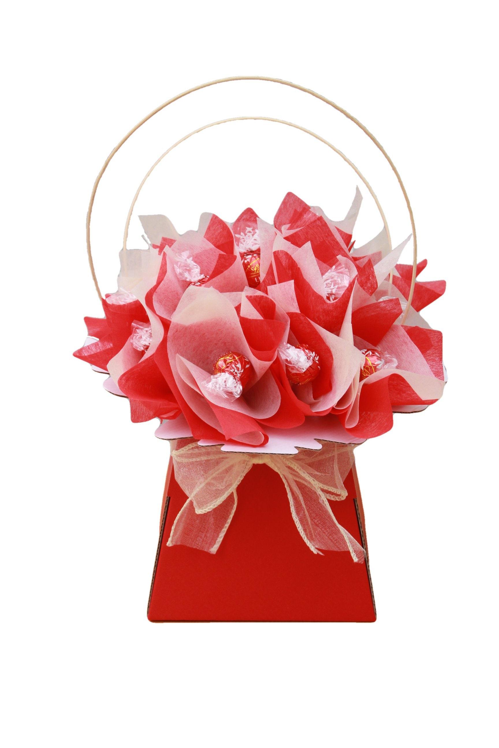 Chocolate Bouquet Lindt Lindor Sweet Hamper Gift | Etsy
