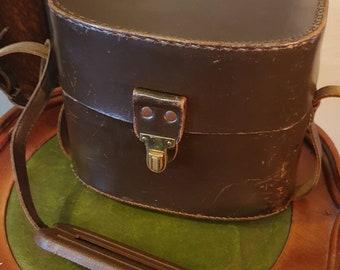 Cameras & Photo Binoculars & Telescopes Vintage Bushnell Binoculars Case Brown Black Theater Costume Prop Retro