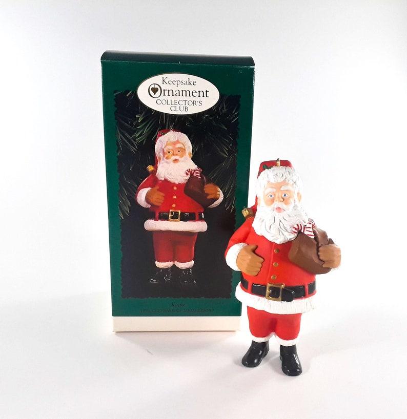 Hallmark Keepsake Ornament Santa 1996 image 0