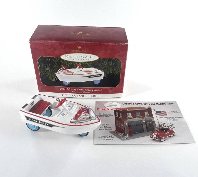 Hallmark Keepsake Christmas Ornament Kiddie Car Classics 1968 image 0