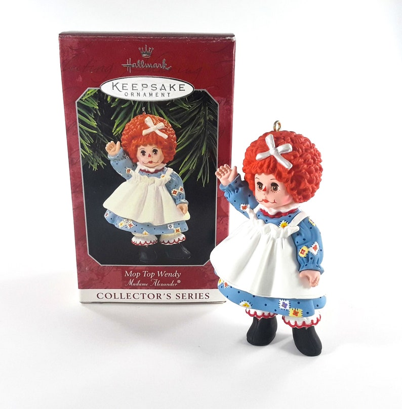 Hallmark Keepsake Christmas Ornament Mop Top Wendy Madame image 0
