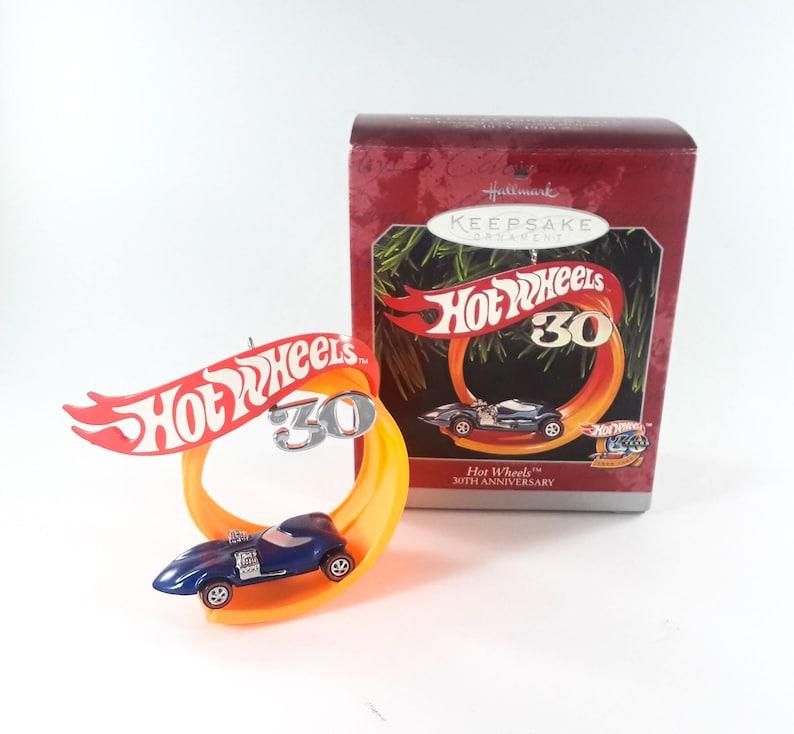 Hallmark Keepsake Ornament Hot Wheels 30th Anniversary 1998 image 0