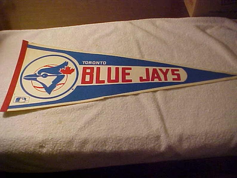 1980/'s Toronto Blue Jays baseball pennant