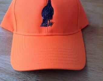 39968f8f Neon Orange Wild Turkey Hunting Hat